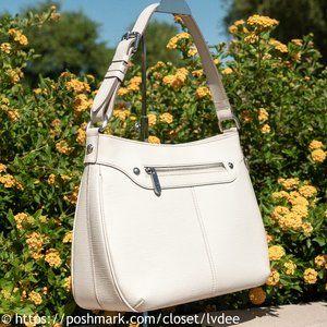 LOUIS VUITTON Turenne GM White Bag